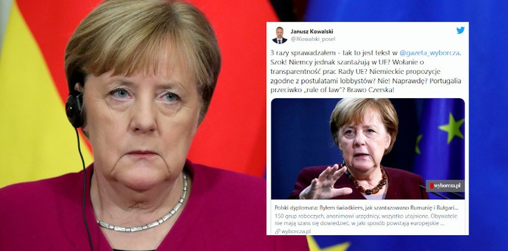Niewiarygodne! ,,GW'' pisze o szantażu Niemiec w UE - zdjęcie