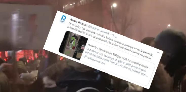 Najpierw zaatakowali dziennikarza, teraz siedzibę Radia Poznań. SK walczy z mediami - zdjęcie
