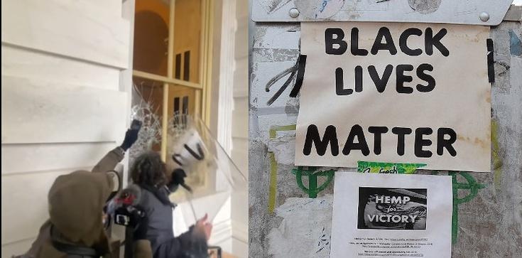 Brytyjska prasa: Za szturm na Kapitol odpowiada aktywista BLM  - zdjęcie