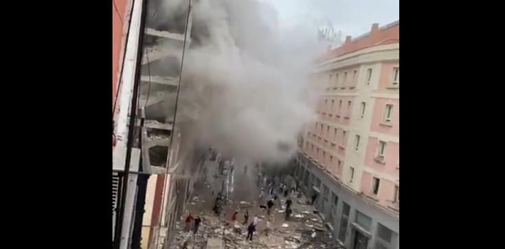 Eksplozja w Madrycie. Są ofiary śmiertelne  - zdjęcie