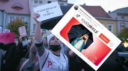 Są jeszcze jakieś granice? Grafika promująca aborcję z wizerunkiem… Matki Bożej - miniaturka