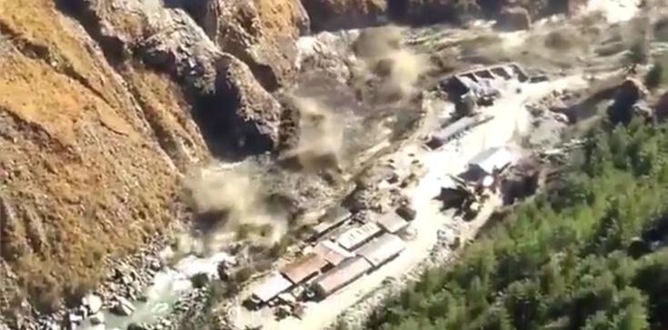 Pęknięcie himalajskiego lodowca. Nawet 150 ofiar - zdjęcie