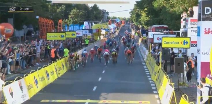 Makabryczny wypadek na Tour de Pologne [WIDEO] - zdjęcie