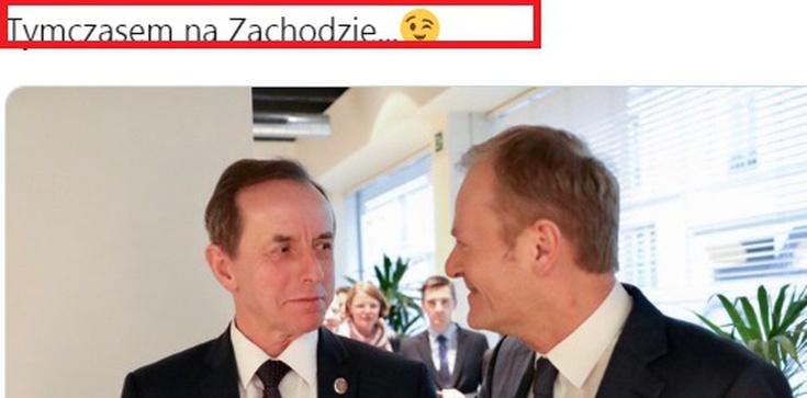 Ależ kompromitacja!!! Szokujący wpis na oficjalnym Twitterze polskiego Senatu - zdjęcie