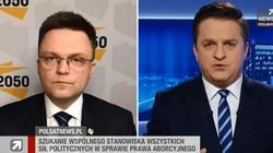 Rymanowski do Hołowni o aborcji: Który Szymon jest prawdziwy? [Wideo] - miniaturka