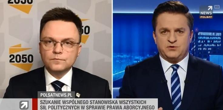 Rymanowski do Hołowni o aborcji: Który Szymon jest prawdziwy? [Wideo] - zdjęcie