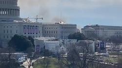 Pożar w pobliżu Kapitolu. Służby przeprowadziły ewakuację  - miniaturka
