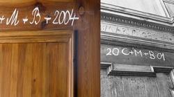 Nie zapomnij oznaczyć kredą drzwi swojego domu!  - miniaturka