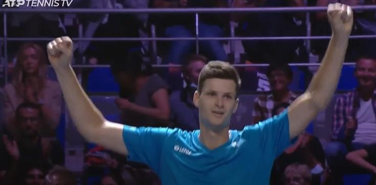 [Wideo] Brawo Huert Hurkacz! Polak wygrał prestiżowy turniej tenisa we Francji - zdjęcie