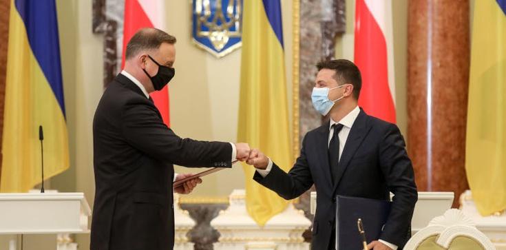 Zełenski po rozmowie z Dudą: Nord Stream 2 to pułapka dla całej Europy! - zdjęcie