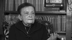 Osiem lat od śmierci Jadwigi Kaczyńskiej. ,,Przekazywała tradycję patriotyzmu'' - miniaturka