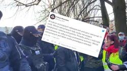 ,,Strajk Przedsiębiorców''. Policja podsumowuje wczorajsze zamieszki - miniaturka