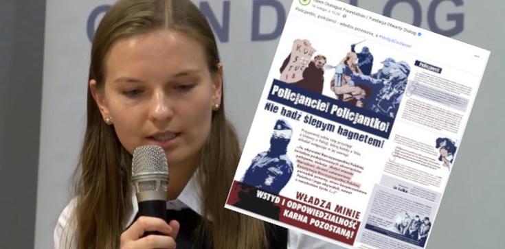 Gdzie ABW? ,,Otwarty Dialog'' wzywa policjantów do buntu i prowokuje ,,Majdan w Warszawie'' - zdjęcie