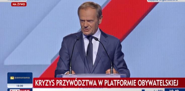 Tusk oficjalnie przewodniczącym PO. ,,Wróciłem''  - zdjęcie