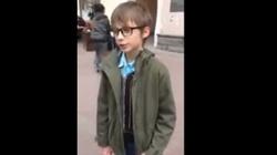Tak policja Putina potraktowała 10-latka w Moskwie - miniaturka