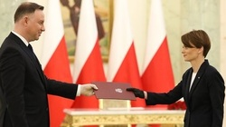 Prezydent powołał Jadwigę Emilewicz na stanowisko wicepremiera - miniaturka