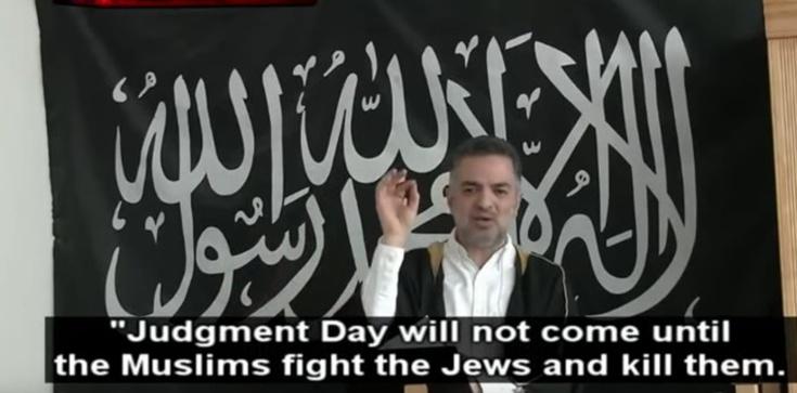 Dania: Imam wzywa do mordowania Żydów [FILM] - zdjęcie