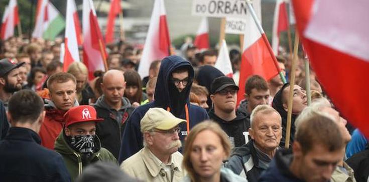 Protesty przeciw imigrantom w różnych miastach Polski - zdjęcie