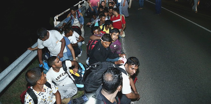 Uchodźcy zatrzymani przy granicy z Polską uciekli z niemieckiego ośrodka! - zdjęcie