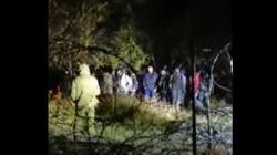 [Wideo] Wojna hybrydowa. W piątek w nocy grupa ok. 70 imigrantów próbowała sforsować polską granicę - miniaturka