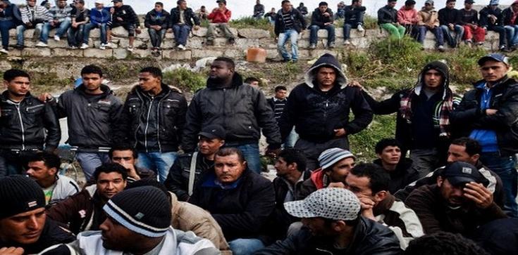 Imigranci forsują włoską Lampedusę. ''Napływ trwa'' - zdjęcie