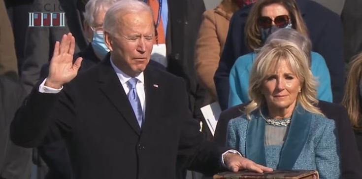 Joe Biden zaprzysiężony na 46. Prezydenta Stanów Zjednoczonych - zdjęcie