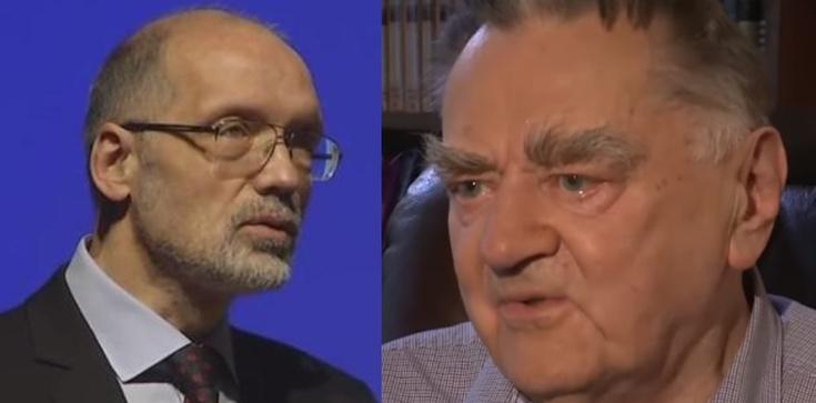 Rozmowa patriotów. Andrzej Nowak i Jan Olszewski - zdjęcie