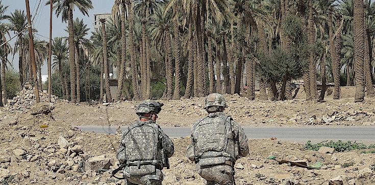 Atak rakietowy na ambasadę USA w Iraku - zdjęcie