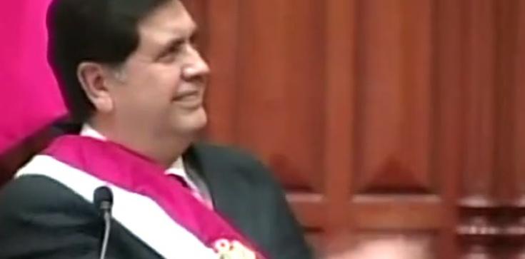 Samobójcza śmierć byłego prezydenta Peru. Postrzelił się podczas aresztowania - zdjęcie