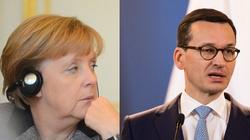 Budżet UE. Premier Morawiecki rozmawiał z kanclerz Merkel - miniaturka
