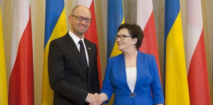 Jaceniuk w Polsce: Chcemy więcej Polski w sprawach ukraińskich - zdjęcie