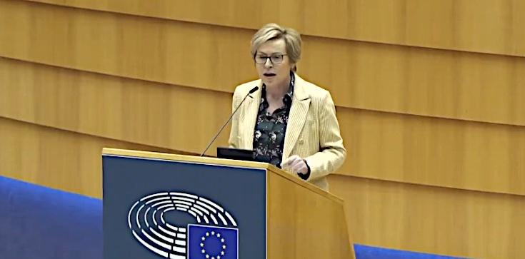 Jadwiga Wiśniewska w PE: Mam dość pomawiania polskiego rządu. Opamiętajcie się! - zdjęcie