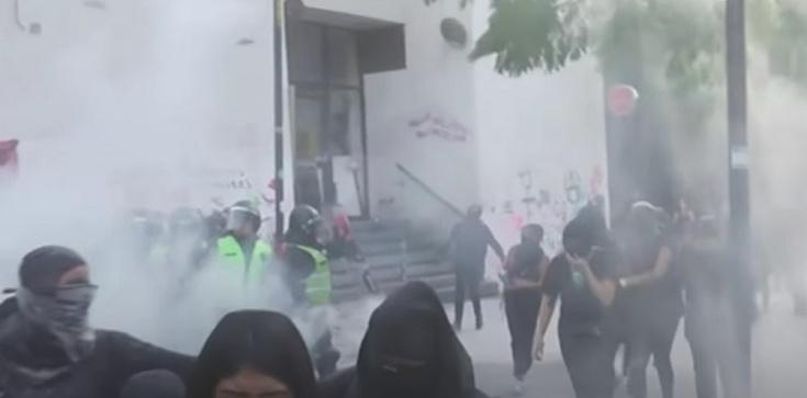 Szokujące! Feministki zdewastowały kościół wOaxaca w Meksyku, żeby ,,uczcić'' dzień kobiet - zdjęcie