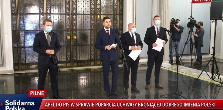 W reakcji na rezolucję PE o LGBT Solidarna Polska składa projekt uchwały ws. obrony dobrego imienia Polski - zdjęcie