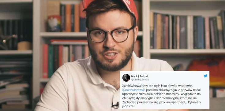 Nowa prowokacja Staszewskiego. Będą kolejne pozwy? - zdjęcie