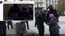 """""""Babcia Kasia"""" do policjantki: Jesteście po prostu zasranym gównem [Wideo] - miniaturka"""
