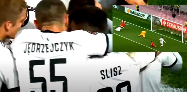 [Wideo] Brawo Legia! Warszawski klub wygrywa ze Spartakiem w Moskwie - zdjęcie