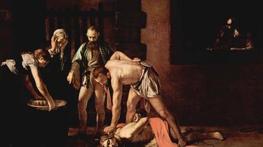 ,,Posławszy więc kata, kazał ściąć Jana w więzieniu'' - miniaturka