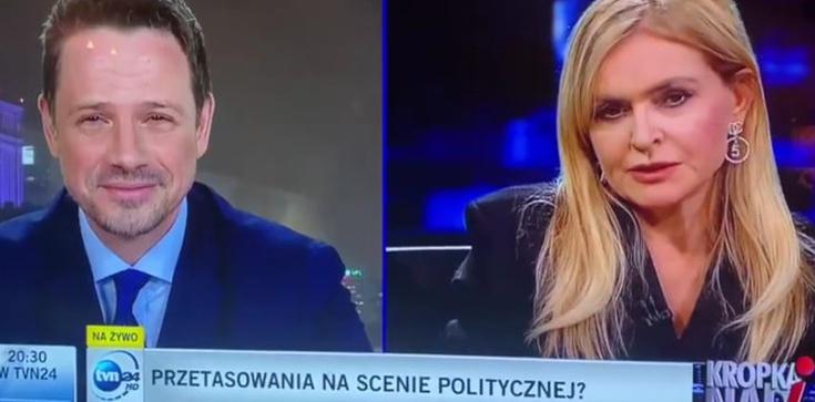 Olejnik wyśmiała Trzaskowskiego. Polityk zlikwiduje TVN? - zdjęcie