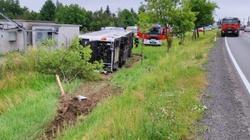 Groźny wypadek autobusu z dziećmi na Opolszczyźnie. Czworo dzieci w szpitalu - miniaturka