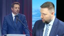 Eskalacja konfliktu Trzaskowski – PO. W tle ulica Lecha Kaczyńskiego  - miniaturka