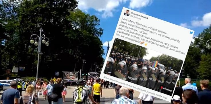 Marsz LGBT w Częstochowie bez zgody ratusza. Śmiszek: We are unstoppable - zdjęcie