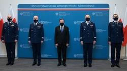 Szef MSWiA powołał nowych komendantów wojewódzkich Policji - miniaturka