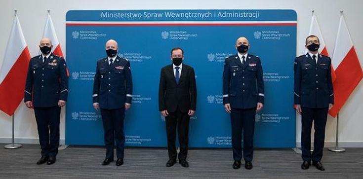 Szef MSWiA powołał nowych komendantów wojewódzkich Policji - zdjęcie