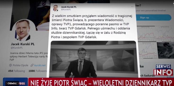 Śmiertelny wypadek dziennikarza TVP. Policja podaje przyczynę - zdjęcie