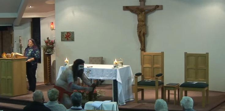 Zmierzch Kościoła. Pogańskie rytuały w czasie święceń diakonatu  - zdjęcie