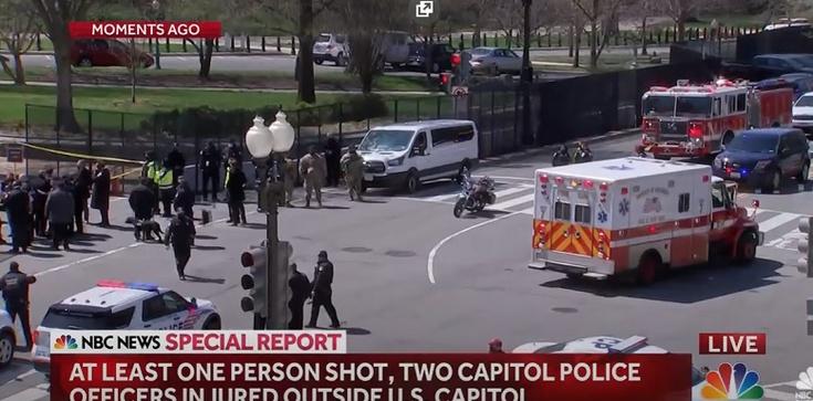 USA. Są ranni w strzelaninie pod Kapitolem [Wideo] - zdjęcie