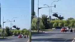 [Wideo] Rumunia: Black Hawk wylądował na rondzie w ścisłym centrum Bukaresztu - miniaturka