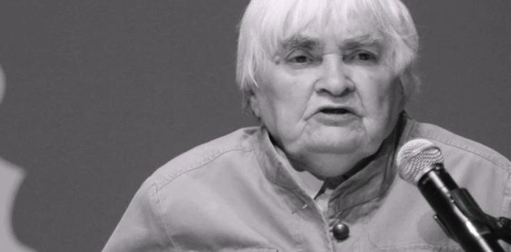 W wieku 93 lat zmarła prof. Maria Janion - zdjęcie