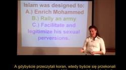 Świetny wykład o naturze islamu - to MUSICIE wiedzieć - miniaturka